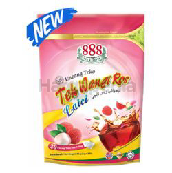 888 Teh Wangi Ros Lychee Pot Bag 20s