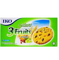 IKO Oatmeal Crackers 3 Fruits 135gm