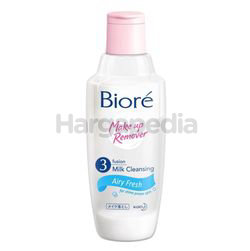 Biore 3 Fusion Milk Cleansing Makeup Remover Airy Fresh 300ml