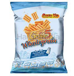 Snek Ku Grain 5 Wholegrain Snack Sea Salt Flavour 30x14gm