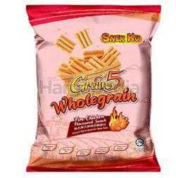 Snek Ku Grain 5 Wholegrain Snack Fire Chicken Flavour 50gm