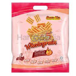 Snek Ku Grain 5 Wholegrain Snack Fire Chicken Flavour 8x14gm