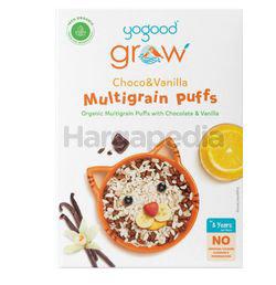 Yogood Grow Organic Multigrain Puffs with Choco & Vanilla 300gm