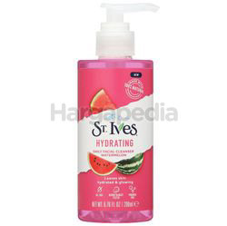 St Ives Hydrating Watermelon Facial Cleanser 200ml