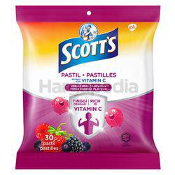 Scott's Vitamin C Mixed Berries Pastilles 30s