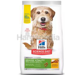 Hill's Science 7+ Senior Dog Vitality Small & Mini Chicken & Rice 6kg