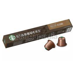 Starbucks House Brand Medium Roast Coffee Tube 10s