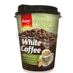 Super Charcoal Roasted White Coffee Hazelnut Cup 36gm