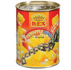 Rex Pineapple Cubes 565gm