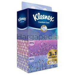 Kleenex 3ply Facial Tissue Box Comfort Care 4x100s