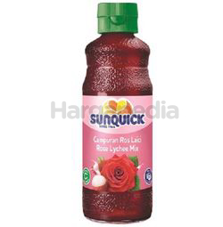 Sunquick Concentrated Cordial Rose Lychee 330ml