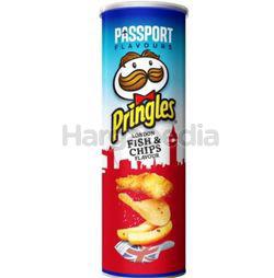 Pringles Potato Crisps London Fish & Chips 107gm