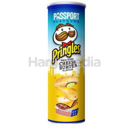 Pringles Potato Crisps NY Cheese Burger 107gm