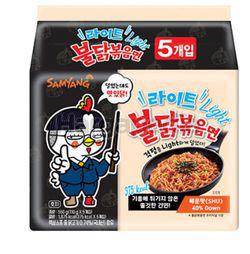 Samyang Hot Chicken Light Ramen 5x110gm