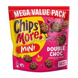 Chipsmore Mini Biscuit Double Choc 14x28gm