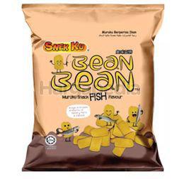 Snek Ku Bean Bean Muruku Snack Fish Flavour 60gm