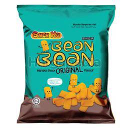 Snek Ku Bean Bean Muruku Snack Original Flavour 60gm