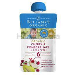 Bellamy's Organic Cherry & Pomegranate 120gm