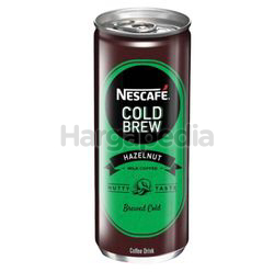 Nescafe Can Cold Brew Hazelnut 240ml