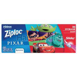 Ziploc Pixar Quart Storage Slider 30s
