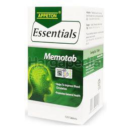 Appeton Essentials Memotab 120s