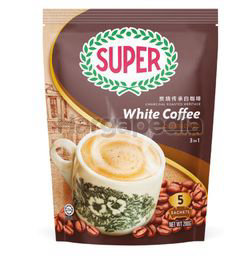 Super 3in1 Charcoal Roasted White Coffee Classic 5x40gm