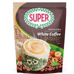 Super 3in1 Charcoal Roasted White Coffee Hazelnut 5x36gm