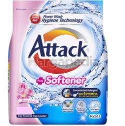 Attack Powder Detergent Plus Softener Sweet Floral 2.2kg