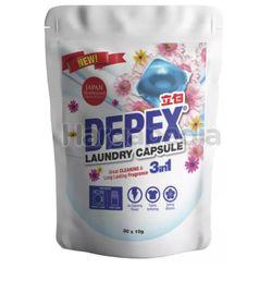 Depex Laundry Liquid Capsule Detergent Softpack 30x10gm
