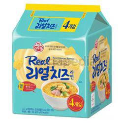 Ottogi Real Cheese Ramyun 4x135gm