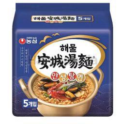 Nong Shim Ansungtangmyun Seafood Ramyun 5x112gm