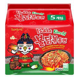 Samyang Hot Chicken Ramen Kimchi 5x140gm