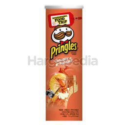 Pringles Potato Crisps Korean Creamy Shrimp 110gm