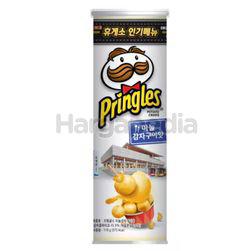 Pringles Potato Crisps Korean Grilled Garlic 110gm