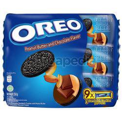 Oreo Peanut Butter & Chocolate 9pack 256.5gm