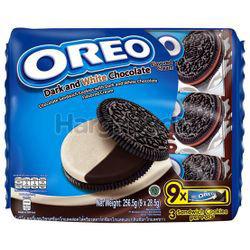 Oreo Dark & White Chocolate 9pack 256.5gm