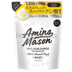 Amino Mason Moist Whip Cream Shampoo Refill 400ml