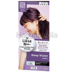 Liese Creamy Bubble Hair Color Deep Violet 1set
