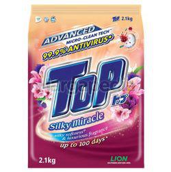 Top Detergent Powder Silky Miracle 2.1kg