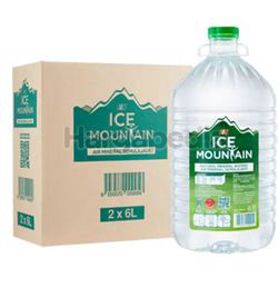 Ice Mountain Mineral Water 2x6lit