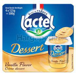 Lactel Dessert Vanilla 4x125gm