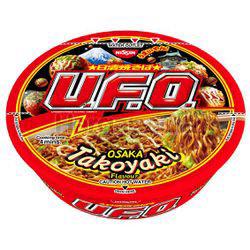 Nissin UFO Bowl Noodle Osaka Takoyaki 97gm