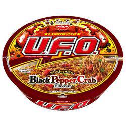 Nissin UFO Bowl Noodle Black Pepper Crab 94gm