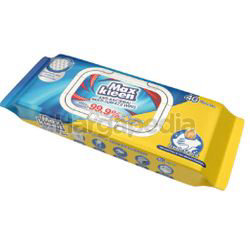 Maxkleen Anti Bacterial Multi Surface Wipes 40s