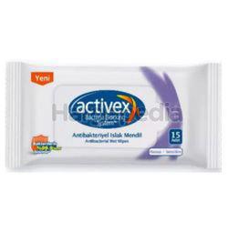 Activex Wet Wipes Sensitive 3x15s