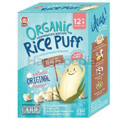 Apple Monkey Organic Germinated Brown Rice Puff Original 30gm