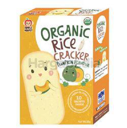 Apple Monkey Organic Rice Cracker Pumpkin 30gm