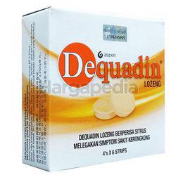 Dequadin Lozenge 4x6s