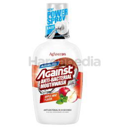 Against 24 Antibacterial Mouth Wash Apple MInt Fresh 500ml