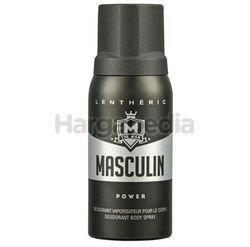 Lentheric Men Deodorant Body Spray Power 150m